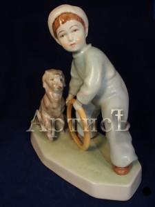Мальчик с собакой (4)