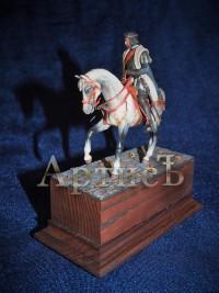 Эрнан Кортес верхом на лошади