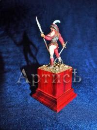 Швейцарский пеший воин 15 век