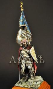 Знаменосец Карла I Анжуйского (2)