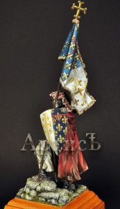 Знаменосец Карла I Анжуйского (6)