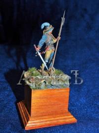 Швейцарский пеший воин 15 век (2)