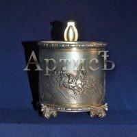 Серебряный подстаканник поставщика двора Его Императорского Величества (3)