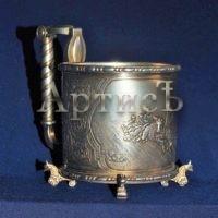Серебряный подстаканник поставщика двора Его Императорского Величества (4)