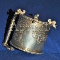 Серебряный подстаканник поставщика двора Его Императорского Величества (8)
